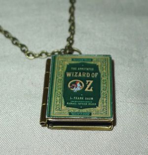 Bronze Wizard of Oz Book Locket for Sale in San Jose, CA