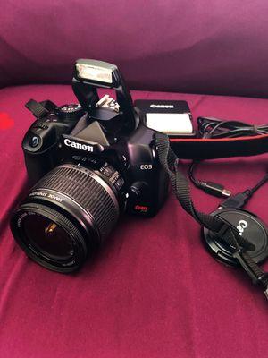 Canon Rebel XS DSLR Camera w/ EF-S 18-55mm f/3.5-5.6 IS Lens Black for Sale in Hesperia, CA