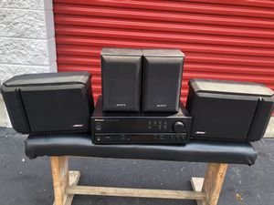 4 Channel Stereo With Bose and Sony Speakers for Sale in Clinton Township, MI