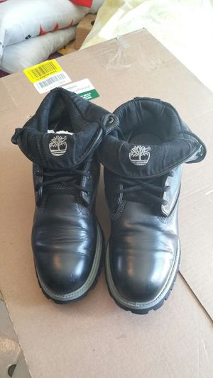 Timberland Boots , Roll Up's  In Great Condition Size 10 , Price is Firm Timberland Boots , Roll Up's  In Great Condition Size 10 , OBO for Sale in Compton, CA