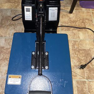 Heat Press Machine for T Shirts for Sale in Hanover Park, IL