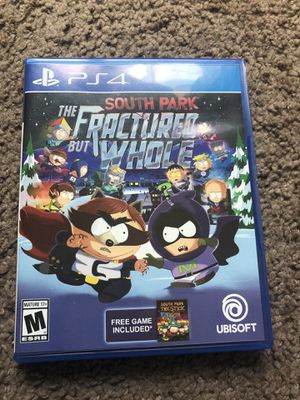 South Park the fractured but whole PS4 for Sale in Riverside, CA