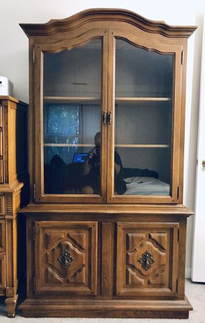 Solid Wood Antique Cabinet for Sale in Somerville, MA
