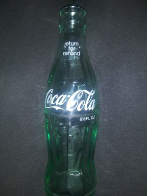 Collectible Old Coca-Cola Glass Bottle for Sale in Marietta, GA