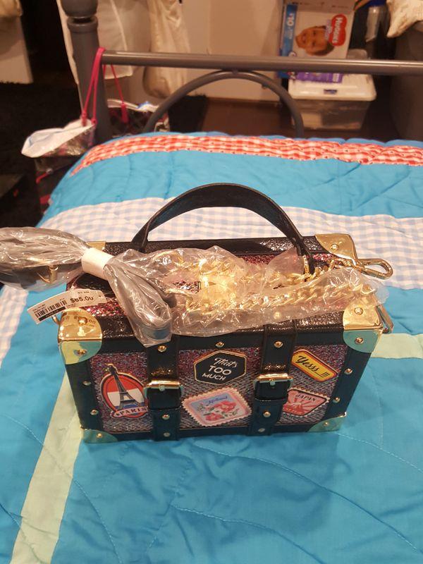 Aldo lunchbox purse