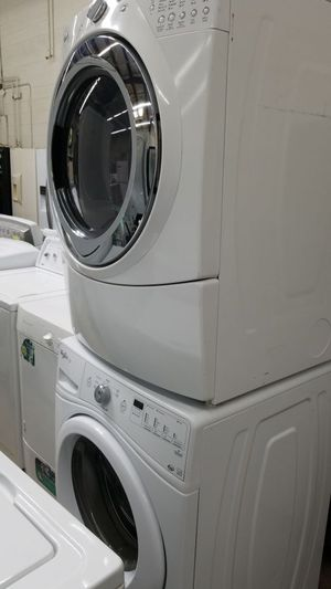 Whirlpool front load washer and dryer set stackable for Sale in Temple Hills, MD