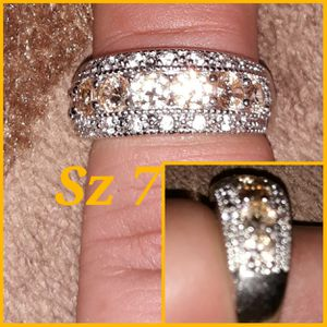 Beautiful sterling silver ring. Sizes available are on the picture. Feel free to ask any questions for Sale in Glen Burnie, MD