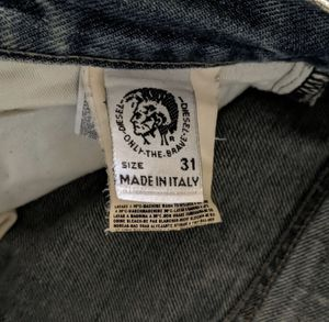 Diesel Industry Men's Sz 31 Button-Fly Jeans for Sale in Minneapolis, MN