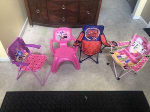 Kids chairs and foldable chairs for Sale in Pickerington, OH
