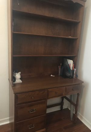 Desk with bookshelves for Sale in Tampa, FL