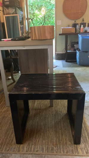 Black End Table for Sale in Portland, OR