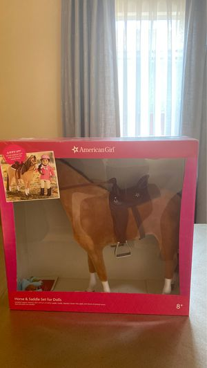 American girl doll horse and saddle set for Sale in Burbank, CA