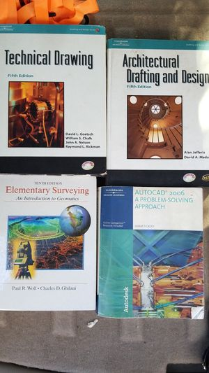 AutoCAD, Surveying, Drafting and Design, Books for Sale in San Antonio, TX