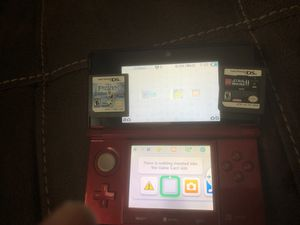 Nintendo 3DS with Frozen and Star Wars 2 for Sale in Garland, TX
