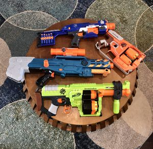 Set of 4 great NERF guns for Sale in Gulfport, FL