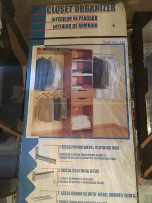 New closet organizer in box - 6' To 8' for Sale in Birmingham, AL