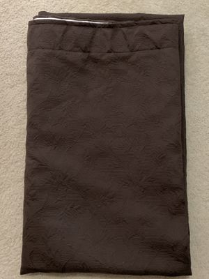 Two Beautiful Panels of Brown Blackout Curtains for Sale in Round Rock, TX