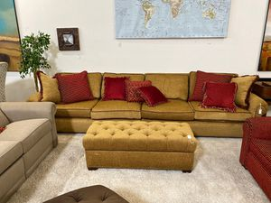 Tab upholstered sofa for Sale in San Diego, CA