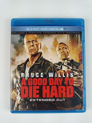 A Good Day to Die Hard (Blu-ray/DVD, 2013, 2-Disc Set, Extended Cut for Sale in Austin, TX