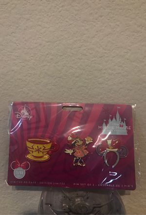 Minnie Mouse Main Attraction Pins: Small World for Sale in Fremont, CA