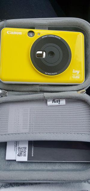 Canon ivy cliq instant camera photo printer for Sale in Tallahassee, FL