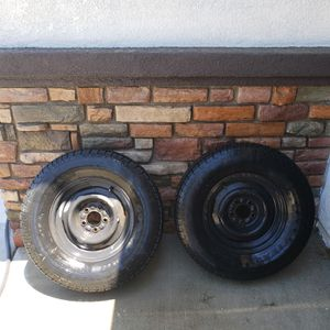 Trailer wheels and tires for Sale in Riverside, CA