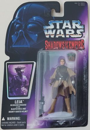 STAR WARS SHADOWS OF THE EMPIRE PRINCESS LEIA IN BOUSHH DISGUISE for Sale in Lakewood, WA