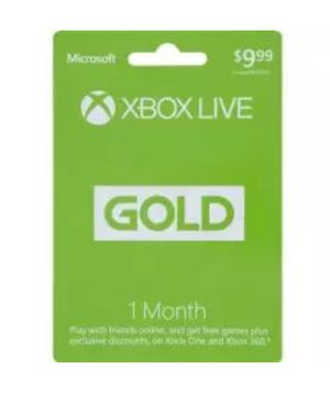 Xbox live gold 1 month for Sale in Longview, TX