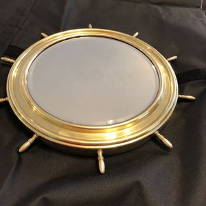 """Antique Bronze Mirror - 12"""" for Sale in Charlotte, NC"""