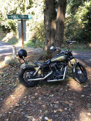 2016 Harley Davidson Street Bob FXDB for Sale in Tacoma, WA