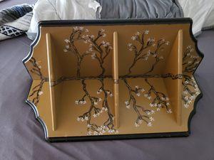 Small cherry blossom corner shelf for Sale in Aurora, CO