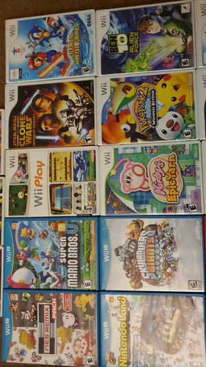 Nintendo Wii and Wii U games for Sale in Glendale, AZ