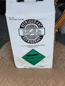 R134a Freon 30 lbs cylinder new for Sale in Kissimmee,  FL