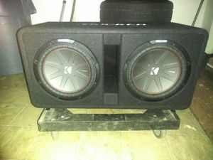 12-in kicker Comp r subs for Sale in Oakland, CA