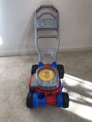 Fisher-Price bubble Mower - Pickup only for Sale in Ashburn, VA
