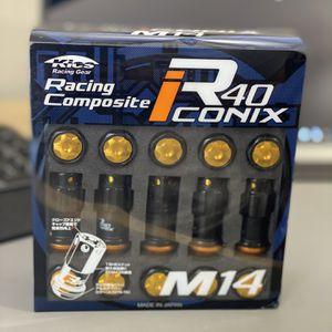KYO-EI RACING COMPOSITE R40 ICONIX M14 X P1.5 (NUT SET) (ALUMINUM CAP) for Sale in Signal Hill, CA
