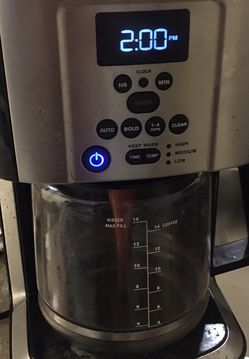 KRUPS EC324 14-CUP Thermobrew Programmable Coffee Maker for Sale in Aloha,  OR
