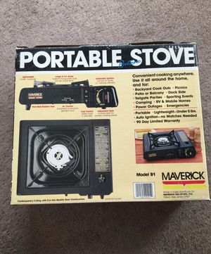 Portable camping stove for Sale in Ashland, OR