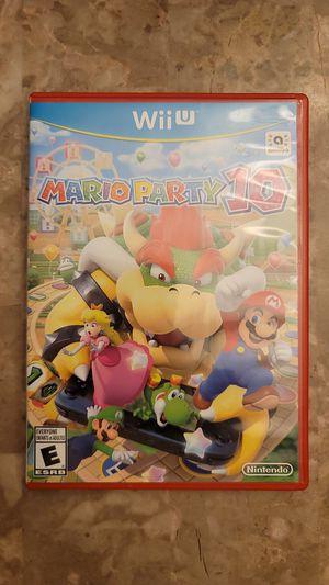 Mario Party 10 - Wii U for Sale in Buckeye, AZ