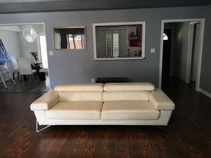 Italian leather couch for Sale in Dallas, TX
