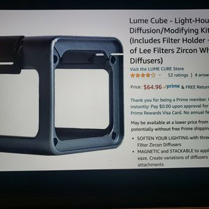 Lume Cube Case for Sale in Los Angeles, CA
