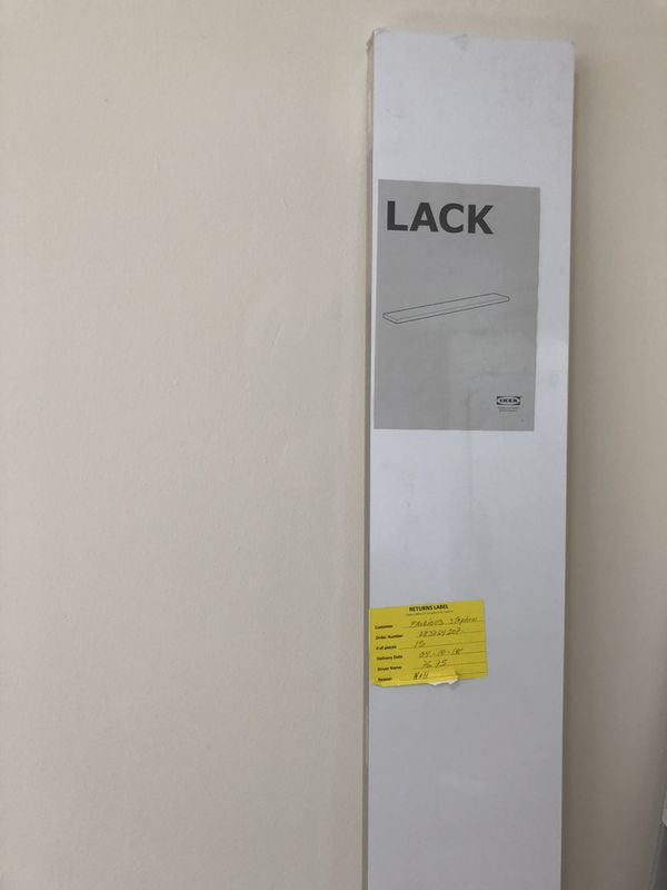 IKEA LACK floating shelf