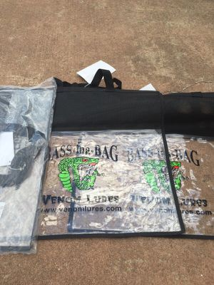 NEW fishing catch and release weigh bag for Sale in Chantilly, VA
