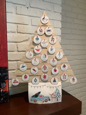 Homemade advent tree for Sale in West Chicago, IL