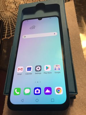 New condition lg g8x thinQ 128 gb att or cricket for Sale in Chicago, IL