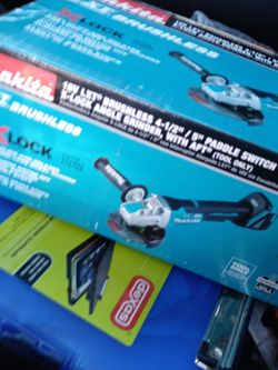 Makita X Lock Angle Grinder Brand New In Box Tool Only for Sale in St. Louis,  MO