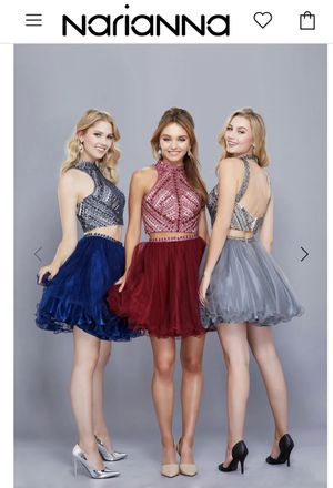 Narianna Prom Hoco dress for Sale in Dacula, GA