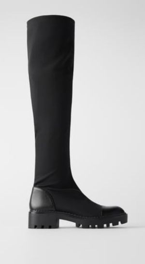 Zara Tall Black Boots for Sale in Laurel, MD