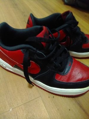 Like New Red & Black Nike Air Force Ones for Sale in Lexington, KY