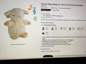 Cloud b Sleep on the go Travel Sound Soother for Sale in Miami, FL